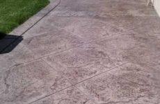 Stamped Concrete Patio La Jolla